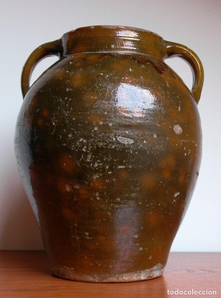 Antigüedades: C069.- ORZA EN CERAMICA POPULAR Y DE PRINCIPIOS DEL S. XX - Foto 3 - 72856415