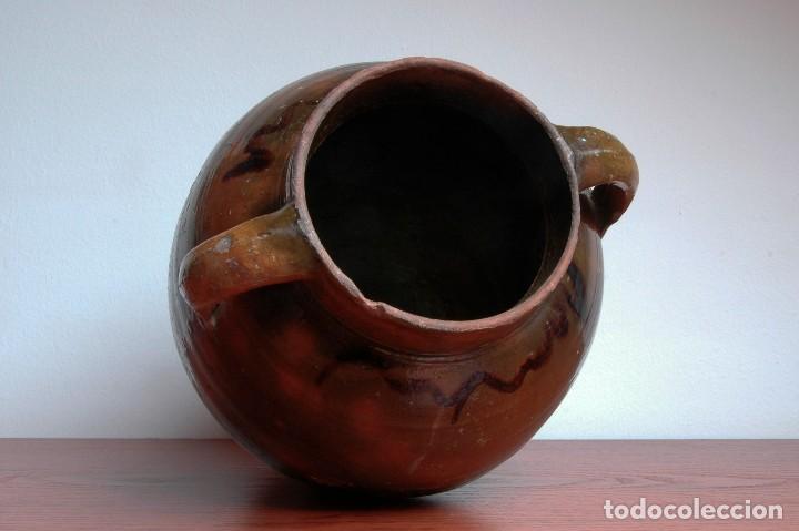 Antigüedades: C069.- ORZA EN CERAMICA POPULAR Y DE PRINCIPIOS DEL S. XX - Foto 5 - 72856415