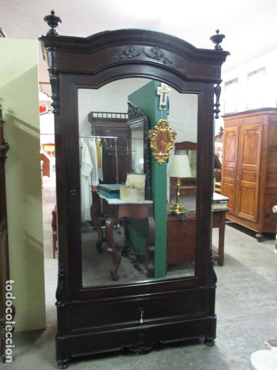 Aparador Corredor Apartamento ~ antiguo armario isabelino madera jacarandá Comprar Armarios Antiguos en todocoleccion
