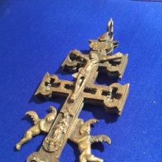 Antiques - Antigua Cruz de Caravaca. Objeto de colección. - 72916767