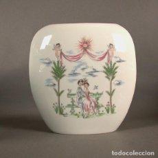 Antigüedades: VINTAGE. FLORERO DE PORCELANA DE ROSENTHAL. RAYMOND PEYNET. 1955 - 1960.. Lote 72927475