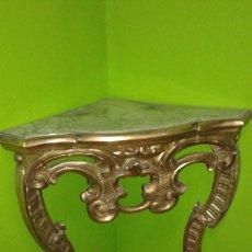 Antigüedades: RINCONERA BARROCA PAN DE ORO SIGLO XIX. Lote 72946827