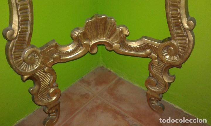 Antigüedades: RINCONERA BARROCA PAN DE ORO SIGLO XIX - Foto 3 - 72946827