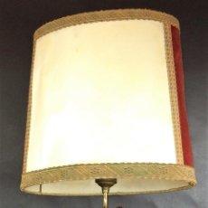 Antigüedades: LAMPARA-ESCULTURA DIVINIDAD CHINA. MADERA TALLADA. HUESO. CHINA. CIRCA 1950. Lote 73007383