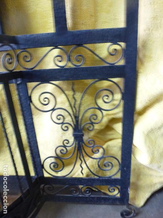 Antigüedades: Antiguo paragüero, perchero. en Hierro forjado. Mueble recibidor - Foto 2 - 145961362