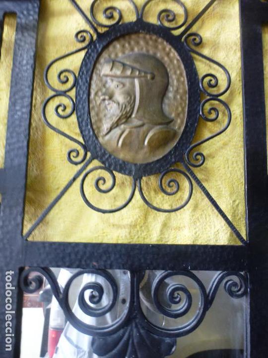 Antigüedades: Antiguo paragüero, perchero. en Hierro forjado. Mueble recibidor - Foto 5 - 145961362
