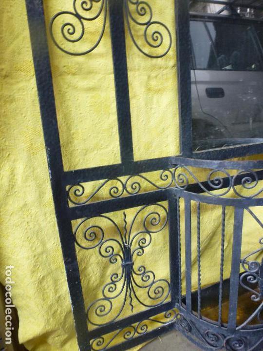 Antigüedades: Antiguo paragüero, perchero. en Hierro forjado. Mueble recibidor - Foto 8 - 145961362