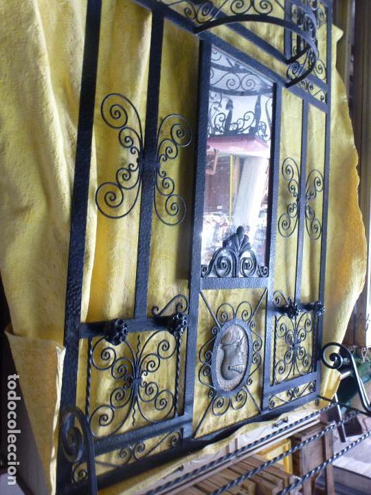 Antigüedades: Antiguo paragüero, perchero. en Hierro forjado. Mueble recibidor - Foto 10 - 145961362