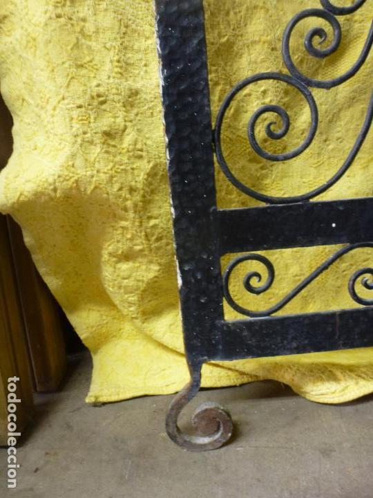 Antigüedades: Antiguo paragüero, perchero. en Hierro forjado. Mueble recibidor - Foto 12 - 145961362