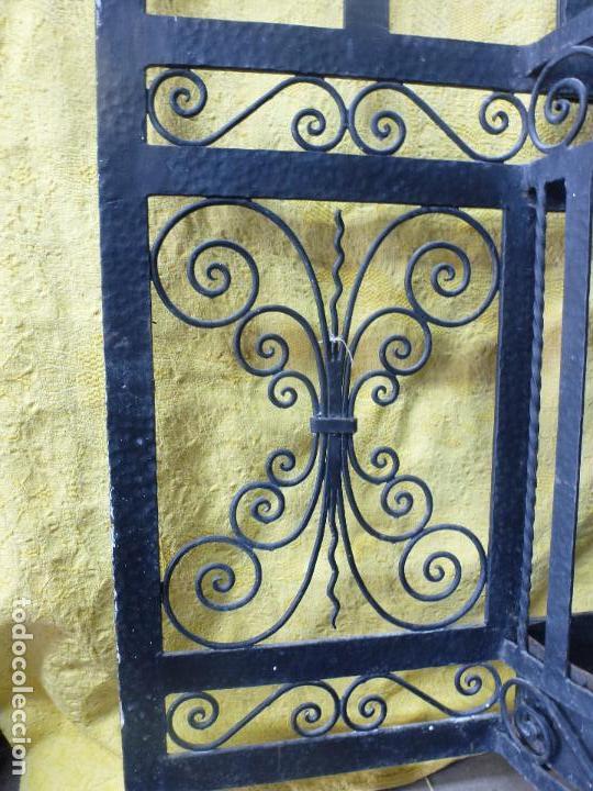 Antigüedades: Antiguo paragüero, perchero. en Hierro forjado. Mueble recibidor - Foto 14 - 145961362