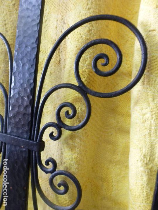 Antigüedades: Antiguo paragüero, perchero. en Hierro forjado. Mueble recibidor - Foto 15 - 145961362