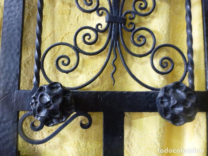 Antigüedades: Antiguo paragüero, perchero. en Hierro forjado. Mueble recibidor - Foto 17 - 145961362
