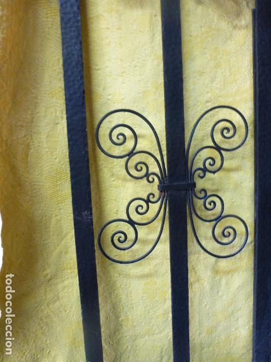 Antigüedades: Antiguo paragüero, perchero. en Hierro forjado. Mueble recibidor - Foto 19 - 145961362