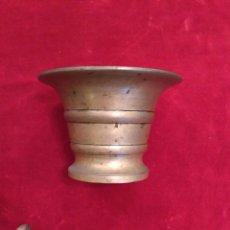 Antigüedades: MORTERO DE BRONCE DEL SIGLO XIX. Lote 73082577
