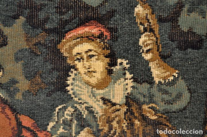 Antigüedades: GIGANTESCO TAPIZ DE APROXIMADAMENTE FINALES DEL SIGLO XIX. 200 CM. X 122 CM. - Foto 20 - 73193259