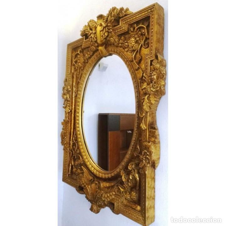 Espejo dorado tallas grande 140 x 125 comprar espejos - Espejos grandes segunda mano ...