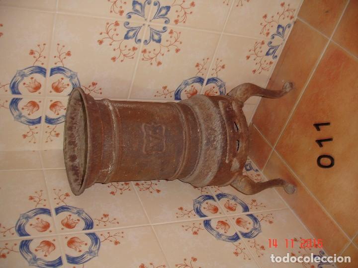 ESTUFA DE FORJA (Antigüedades - Técnicas - Rústicas - Utensilios del Hogar)