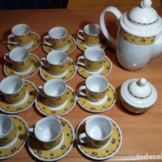 Antigüedades: JUEGO CAFE 12 SERVICIOS. Lote 73413731