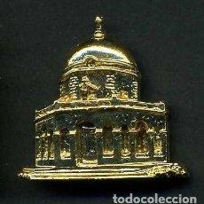 Antigüedades: MEDALLA INSIGNIA ORO DE LA ERMITA SANTA ANA EN CHICLANA CADIZ - Nº4. Lote 73457775