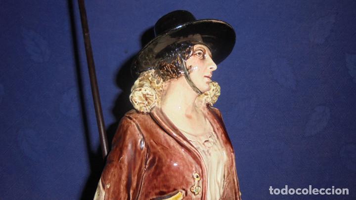 Antigüedades: FIGURA DEL ESCULTOR ANTONIO PEYRO, MUJER CORDOBESA CON GARROCHA. MEDIDA SIN LA GARROCHA 58.5 cm.+ - Foto 7 - 73481143