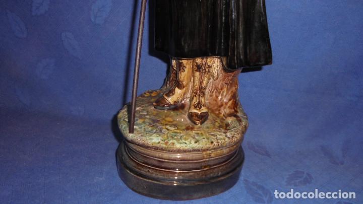 Antigüedades: FIGURA DEL ESCULTOR ANTONIO PEYRO, MUJER CORDOBESA CON GARROCHA. MEDIDA SIN LA GARROCHA 58.5 cm.+ - Foto 8 - 73481143