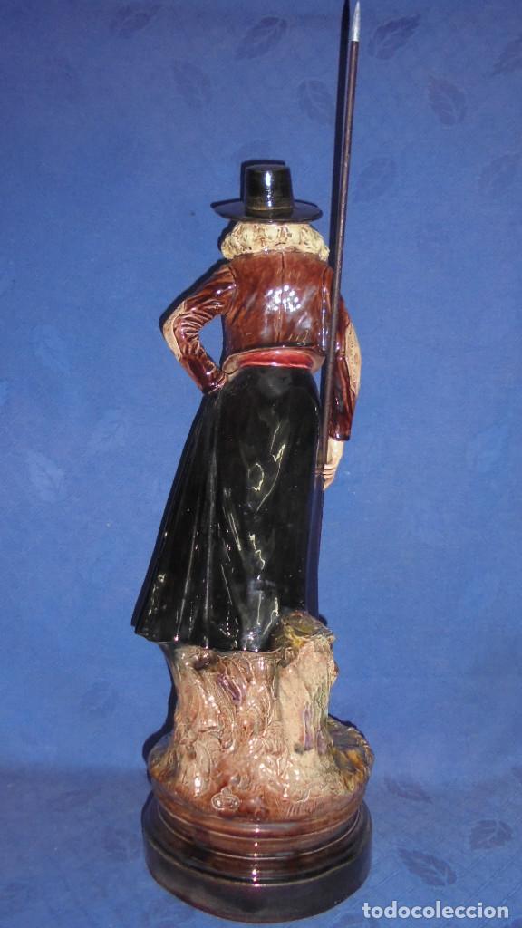 Antigüedades: FIGURA DEL ESCULTOR ANTONIO PEYRO, MUJER CORDOBESA CON GARROCHA. MEDIDA SIN LA GARROCHA 58.5 cm.+ - Foto 12 - 73481143