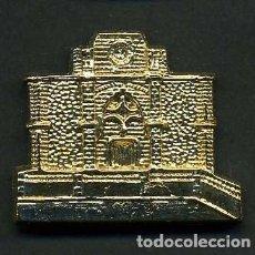 Antigüedades: MEDALLA INSIGNIA ORO - IGLESIA PARROQUIA DIVINO SALVADOR - VEJER DE LA FRONTERA CADIZ - Nº20. Lote 73481659