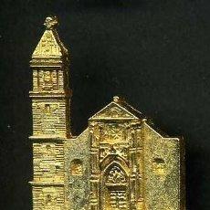 Antigüedades: MEDALLA INSIGNIA ORO - IGLESIA MAYOR SAN JORGE - ALCALA DE LOS GAZULES CADIZ - Nº24. Lote 73483727