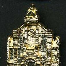 Antigüedades: MEDALLA INSIGNIA ORO - IGLESIA NUESTRA SEÑORA DEL SOCORRO - BENALUP CADIZ - Nº25. Lote 73484155