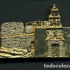 Antigüedades: MEDALLA INSIGNIA ORO - ERMITA DE SANTIAGO - ESPERA CADIZ - Nº28. Lote 73485443