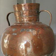 Antigüedades: ANTIGUO RECIPIENTE DE COBRE. . Lote 73493539