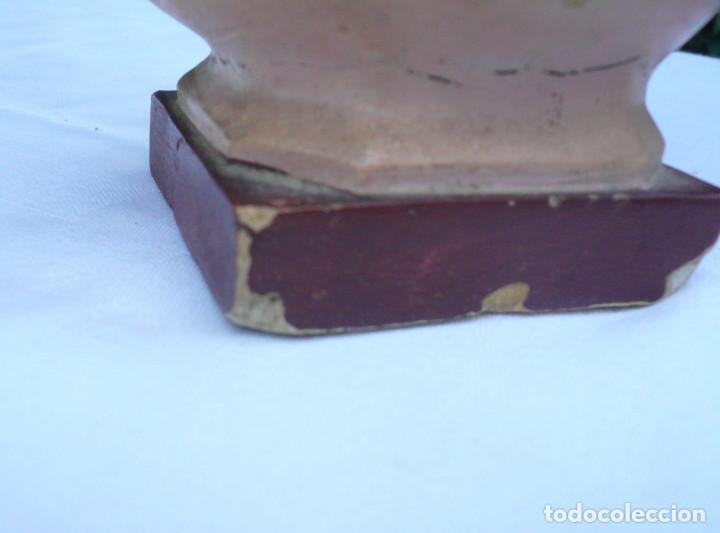 Antigüedades: INMACULADA CONCEPCIÓN ANTIGUA. SELLO DE OLOT. ALTURA 23 CM - Foto 10 - 73513499