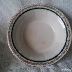 Antigüedades: GRAN FUENTE HONDA-CERÁMICA SAN CLAUDIO. Lote 73519043