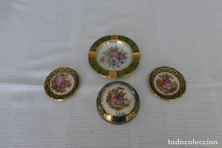 PEQUEÑO LOTE LIMOGES (Antigüedades - Porcelana y Cerámica - Francesa - Limoges)