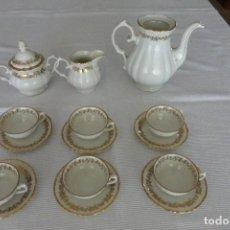 Antigüedades: JUEGO DE CAFÉ ANTIGUO. Lote 73536567