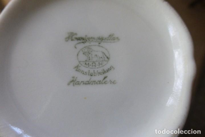 Antigüedades: JUEGO DE CAFÉ ANTIGUO. SELLADO EN LA BASE - Foto 2 - 73536567