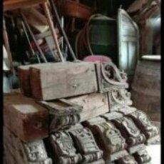 Antigüedades: LOTE DE 19 MENSULAS ANTIGUAS. Lote 73551269
