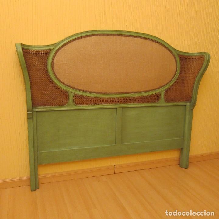cabecero de madera restaurado comprar camas antiguas en