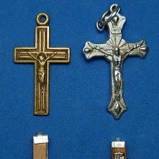 Antigüedades: LOTE DE 4 CRUCES PECTORALES. Lote 73579639