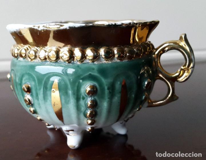 TAZA DE COLECCIÓN SIGLO XVIII. FRANCIA (Antigüedades - Porcelana y Cerámica - Francesa - Limoges)