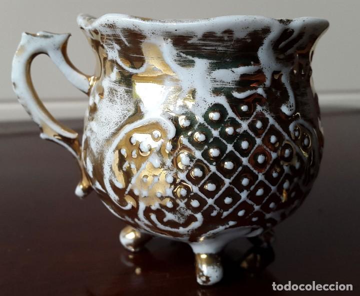 TAZA COLECCIÓN SIGLO XIX. FRANCIA (Antigüedades - Porcelana y Cerámica - Francesa - Limoges)