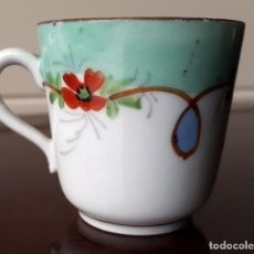 Antigüedades: PEQUEÑA TAZA DE CAFE, COLECCIÓN. XIX. 4CM.. Lote 73685559