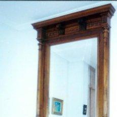 Antigüedades: COMODA DE NOGAL DE FINALES SIGLO XIX. Lote 73692587