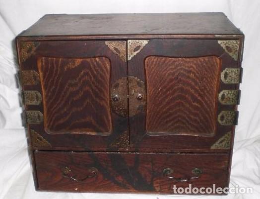 Antiguo cabinete o mueble joyero chino comprar - Mueble chino antiguo ...