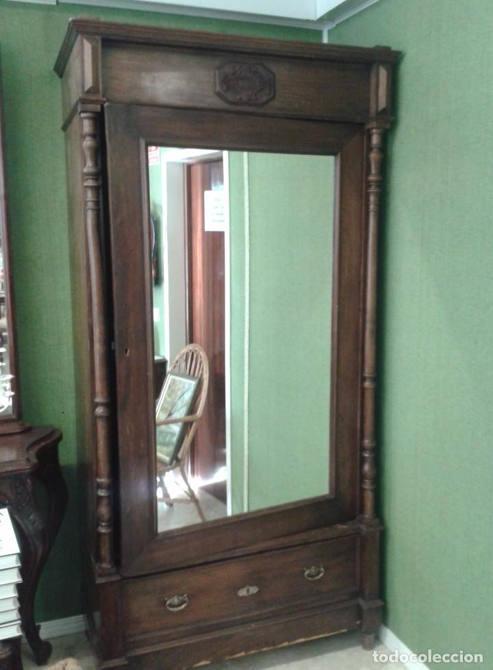 armario antiguo estilo alfonsino s. xix. mueble - Comprar Armarios ...