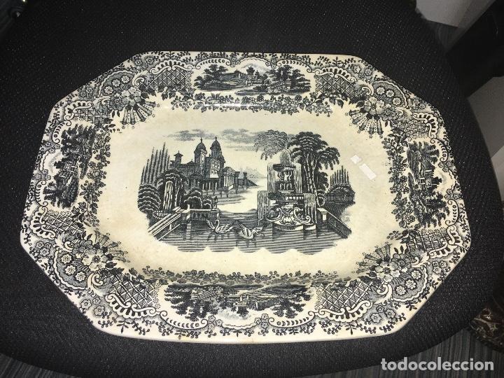 BANDEJA PORCELANA (Antigüedades - Porcelanas y Cerámicas - Otras)