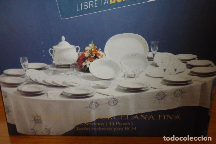 VAJILLA DE SANTA CLARA DE 12 SERVICIOS, A ESTRENAR (Antigüedades - Porcelanas y Cerámicas - Santa Clara)