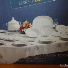 Antigüedades: VAJILLA DE SANTA CLARA DE 12 SERVICIOS, A ESTRENAR. Lote 182712736
