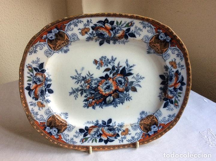 Antigua fuente de porcelana inglesa marca comprar for Marcas de porcelana