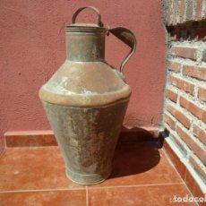 Antigüedades: CÁNTARA - LECHERA DE CHAPA FINALES DEL XIX PRINCIPIOS DEL XX. Lote 73825079
